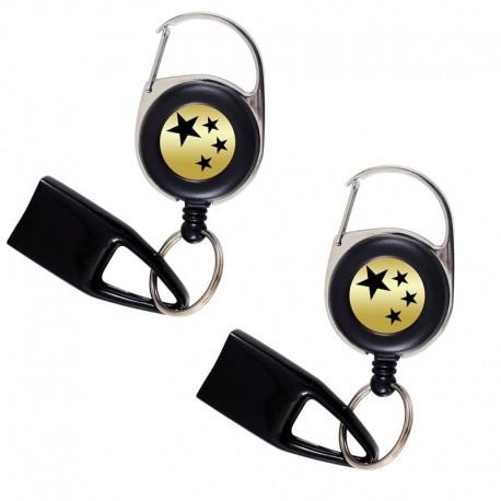 Pack Feuzzz de luxe, porte briquet / clé USB / badge à enrouleur