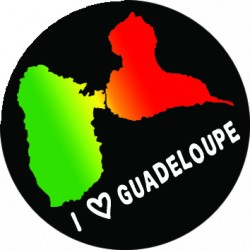 I love Guadeloupe