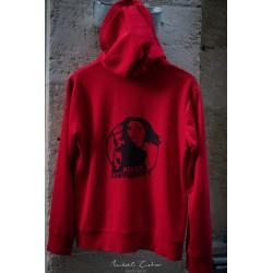 Veste fille rouge