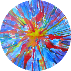 Logo Jackson Pollock's eye