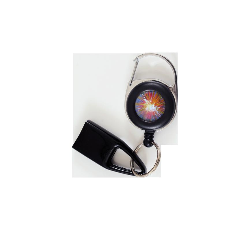 Flat Feuzzz Splah, porte briquet / clé USB / badge à enrouleur