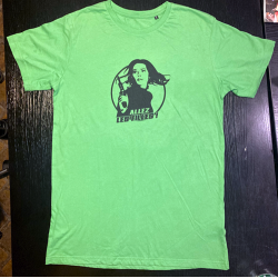 T-shirt col rond Allez les...